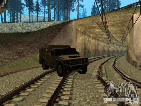 Hummer H2 Army для GTA San Andreas
