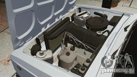 ВАЗ-2107 2011 DAG для GTA 4 вид изнутри