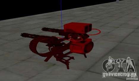 Турель из Team Fortess 2 для GTA San Andreas четвёртый скриншот