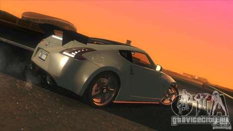 Nissan 370Z Drift 2009 V1.0 для GTA San Andreas колёса