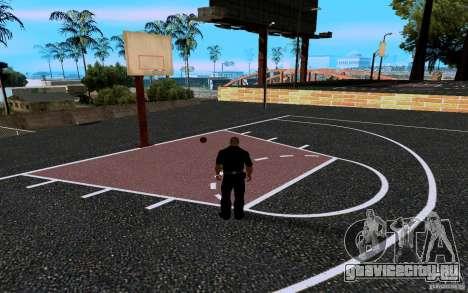 Новая баскетбольная площадка для GTA San Andreas шестой скриншот