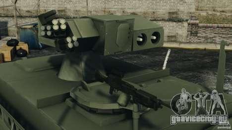 Stryker M1134 ATGM v1.0 для GTA 4 вид сбоку