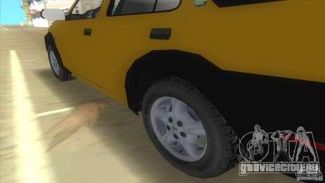 Land Rover Freelander для GTA Vice City вид сзади слева