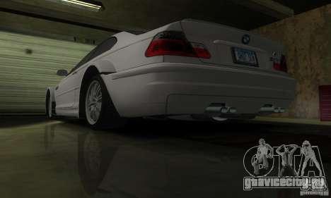 BMW M3 Tuneable для GTA San Andreas вид сверху