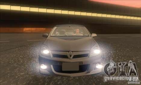 Opel Astra GTC DIM v1.0 для GTA San Andreas вид снизу