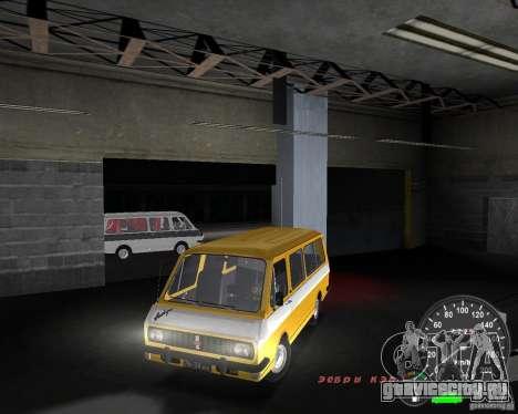 РАФ 2203 для GTA Vice City вид справа
