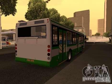 ЛиАЗ 5292.20 для GTA San Andreas вид сзади слева