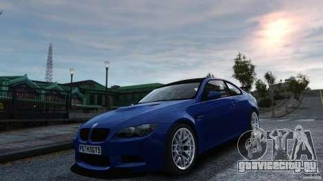 BMW M3 GTS Final для GTA 4 вид справа