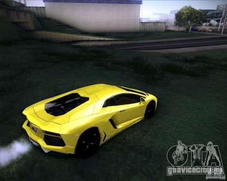 Lamborghini Aventador для GTA San Andreas вид слева