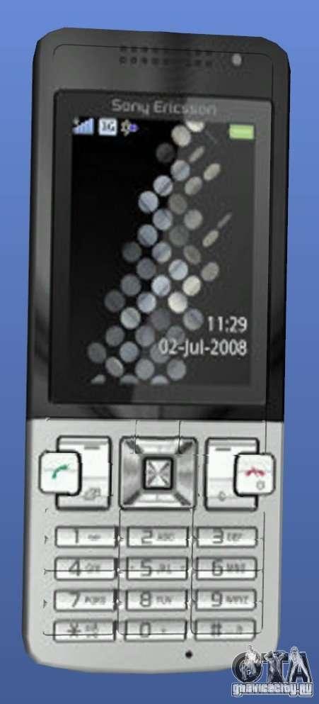 Мобильный телефон Sony Ericsson T700 для GTA 4