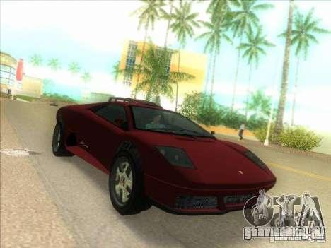 Infernus из GTA IV для GTA Vice City вид слева