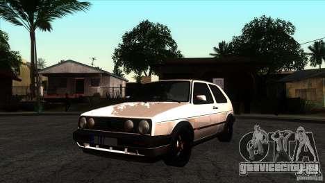 VW Golf 2 для GTA San Andreas