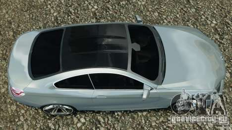 BMW M6 Coupe F12 2013 v1.0 для GTA 4 вид справа