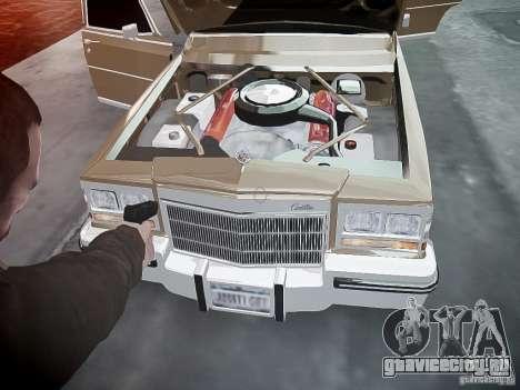 Cadillac Fleetwood 1985 для GTA 4 салон