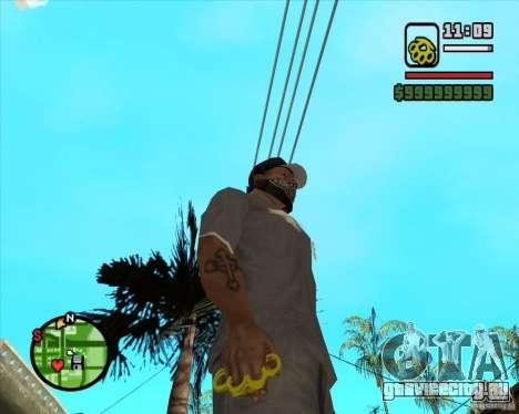 Золотой кастет для GTA San Andreas второй скриншот