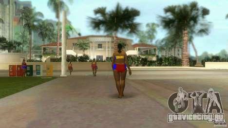 Big Lady Cop Mod 2 для GTA Vice City второй скриншот
