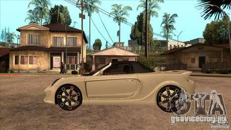 Toyota MR-S Veilside для GTA San Andreas вид слева
