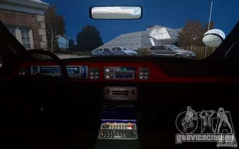 Chevrolet Caprice 1991 Police для GTA 4 салон