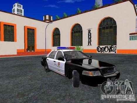 Ford Crown Victoria San Andreas State Patrol для GTA San Andreas