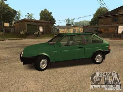 ВАЗ 2108 Сток для GTA San Andreas вид слева