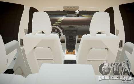 Volvo XC 90 для GTA 4 вид снизу