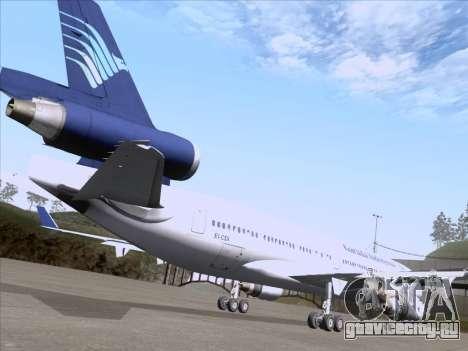 McDonnell Douglas MD-11 Garuda Indonesia для GTA San Andreas вид сбоку