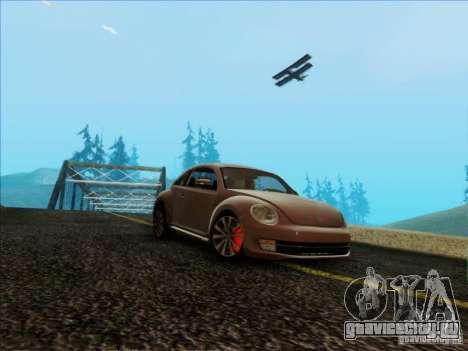 Volkswagen Beetle Turbo 2012 для GTA San Andreas
