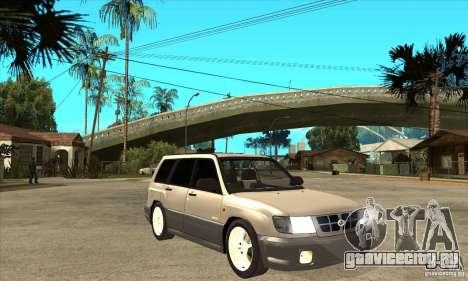 Subaru Forester 1997 года для GTA San Andreas вид сзади