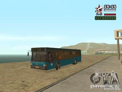 МАЗ-103С для GTA San Andreas вид сзади слева