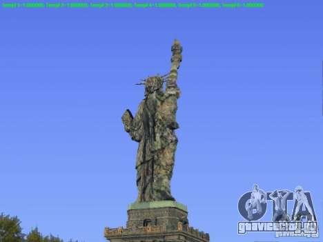 Статуя Свободы 2013 для GTA San Andreas второй скриншот
