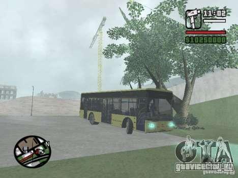 ЛАЗ А152 (СитиЛАЗ 10) для GTA San Andreas вид справа