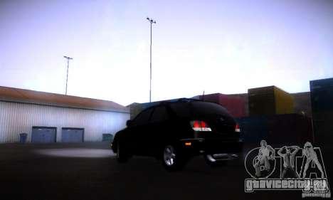 Lexus RX300 для GTA San Andreas вид слева