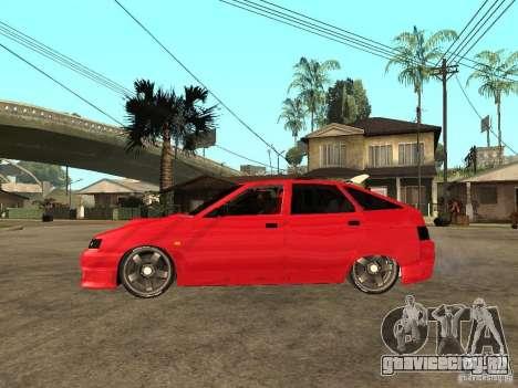 Lada 2112 GTS Sprut для GTA San Andreas вид слева
