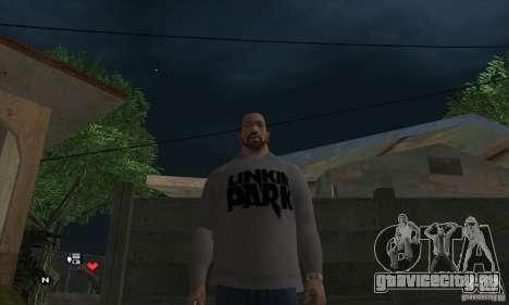 Свитер Линкин Парк v0.1 beta для GTA San Andreas