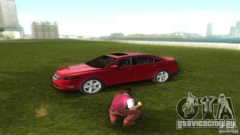 Ford Taurus для GTA Vice City вид сзади слева