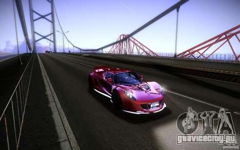 Hennessey Venom GT 2010 V1.0 для GTA San Andreas вид справа