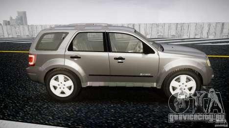 Ford Escape 2011 Hybrid Civilian Version v1.0 для GTA 4 вид сбоку