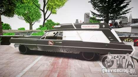 Cadillac Wildlife Control для GTA 4 вид справа