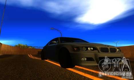 BMW M3 E46 TUNEABLE для GTA San Andreas вид справа