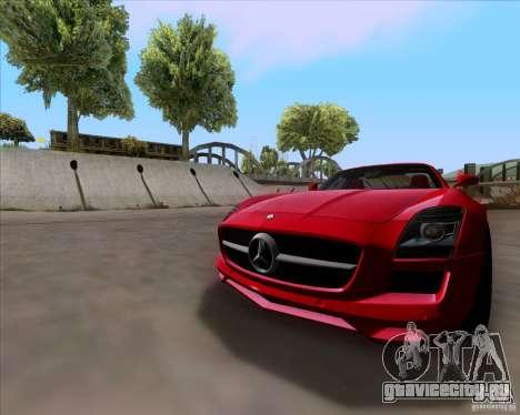 Mercedes-Benz SLS AMG V12 TT Black Revel для GTA San Andreas вид слева