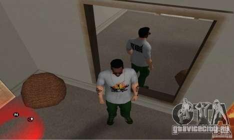 Футболка Green day для GTA San Andreas третий скриншот