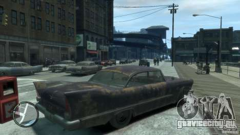 Plymouth Savoy Club Sedan 1957 для GTA 4 вид справа