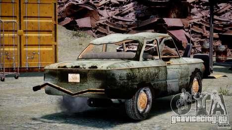 ЗАЗ 968М Побитый для GTA 4 вид изнутри