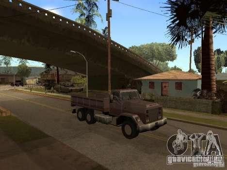 Ford Freightliner для GTA San Andreas вид слева