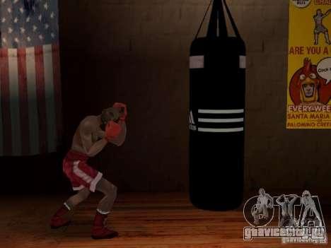 Новая боксерская груша для GTA San Andreas третий скриншот