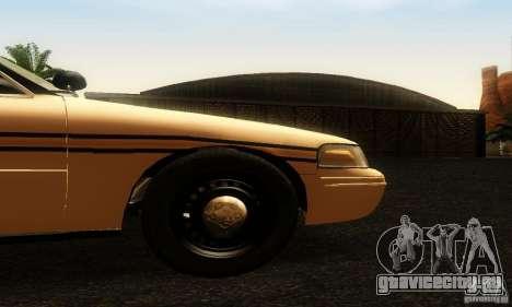Ford Crown Victoria Tennessee Police для GTA San Andreas вид справа