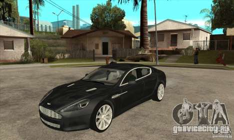 Aston Martin Rapide 2010 для GTA San Andreas