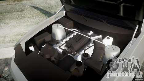 Ford Mustang V6 2010 Chrome v1.0 для GTA 4 вид сзади
