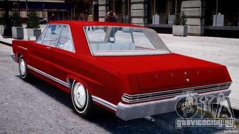 Ford Mercury Comet 1965 для GTA 4 вид справа