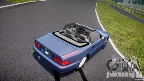 Mercedes-Benz SL500 для GTA 4 вид изнутри